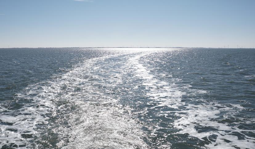 Wellen in der Sonne, © Die Nordsee GmbH, Karen Walterscheid