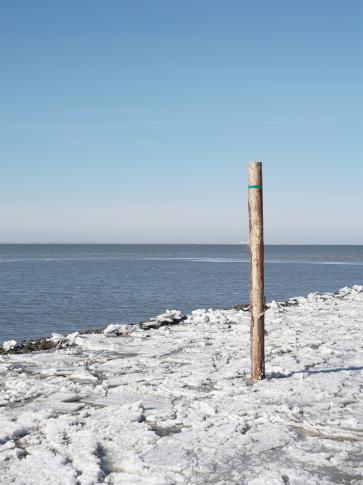 Eisschollen im Hafen, © Die Nordsee GmbH, Robin Schneider