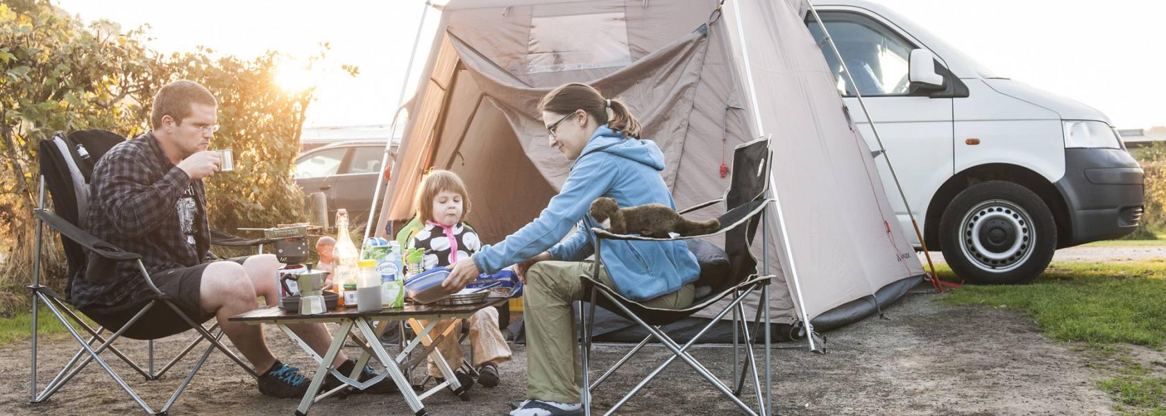 Familiencamping im Wangerland, © Florian Trykowski