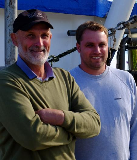 Uwe und Tom Caspers, © Hans Dieter Erlenbach