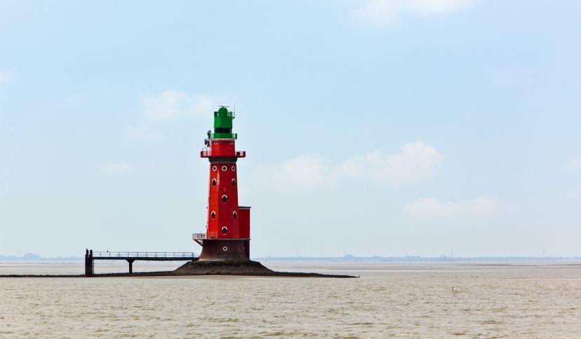 Leuchtturm Hohe Weg, © Oliver Hoffmann, Adobe Stock